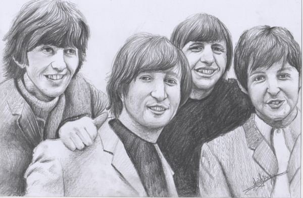 The Beatles by Alex22bx